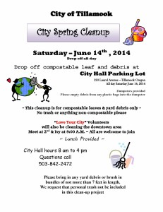 Spring Clean Up 2014