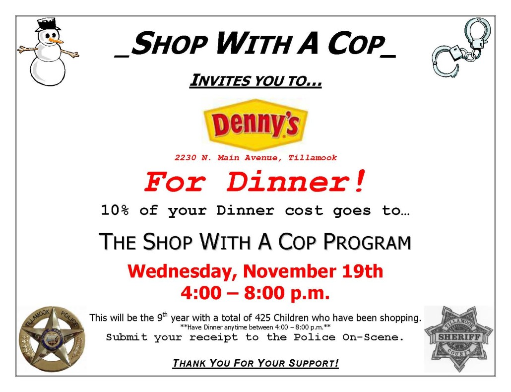 Denny's Dinner Flyer 2014
