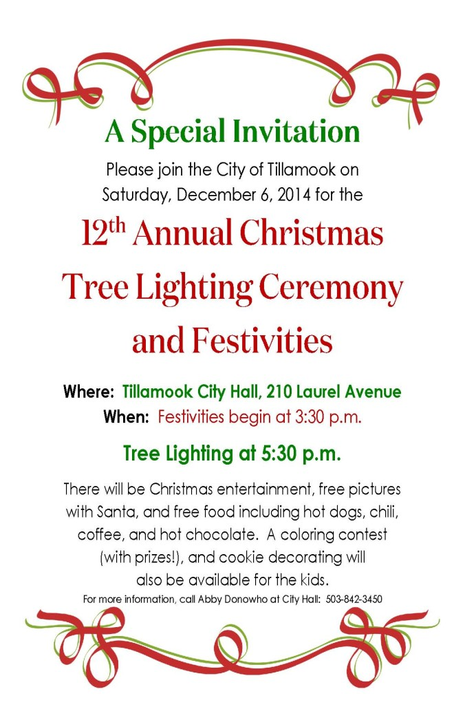Christmas Tree Event