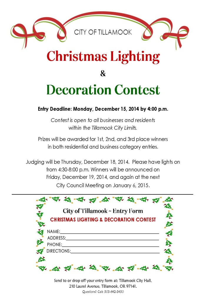 Lighting and Decoration Contest
