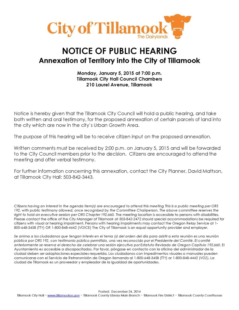 Notice of Public Hearing--Annexation2