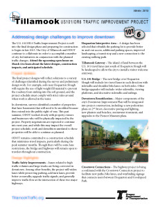 Tillamook OR6 US101 Newsletter Winter 2015 01 29_Page_1