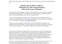 CC State Revenue Sharing Hearing 2015