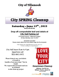 Spring Clean Up 2015