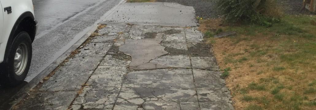 3rd & Miller sidewalks