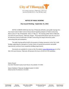 Public Notice - Public Contracting 9-21-2015
