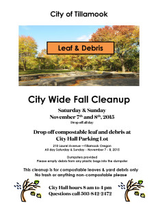 Fall Clean Up 2015