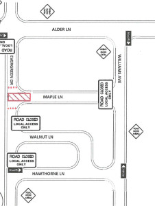 Evergreen Maple Closure Map