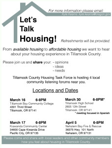 Housing Task Force FLyer