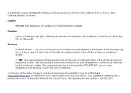 Notice of Ballot Measure Receipt