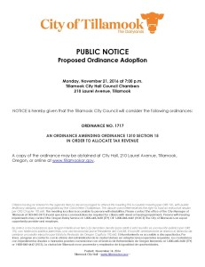 public-notice-of-ordinance-1717-marijuana-tax-allocation-11-21-2016