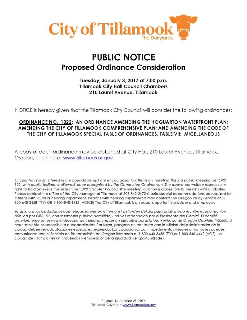public-notice-of-ordinance-1322-consideration