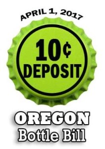 Oregon 10 cents bottle bill