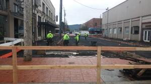 20170425 Plaza Construction Begins (4)
