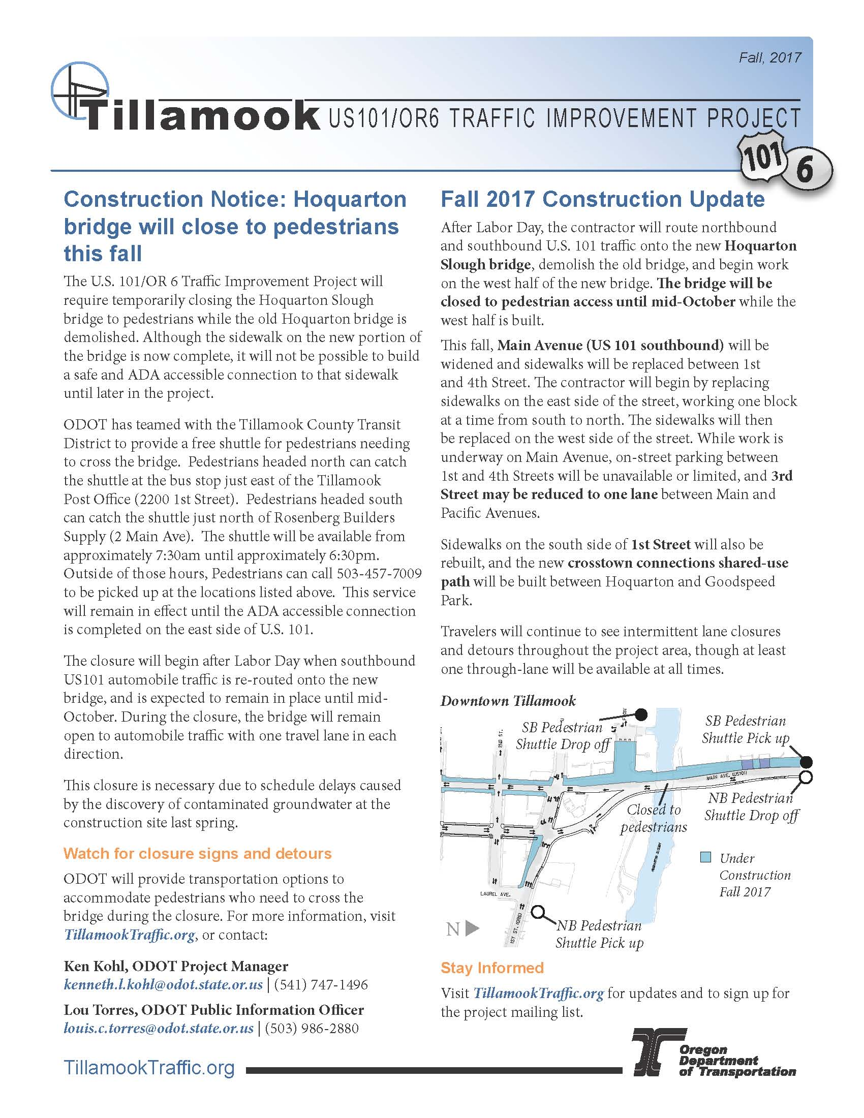Tillamook OR6 US101 Update Flyer Fall 2017 DRAFT_Page_1