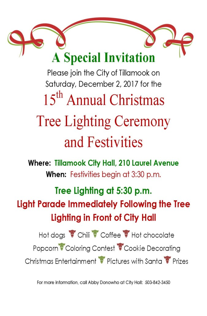 2017 Christmas Tree Lighting