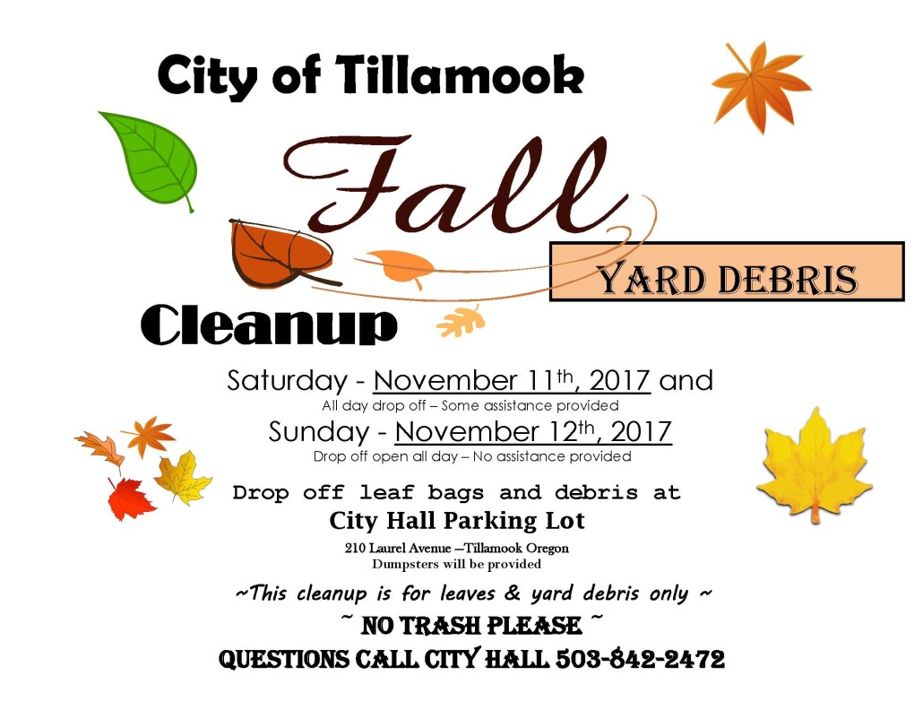 2017 Fall Clean Up